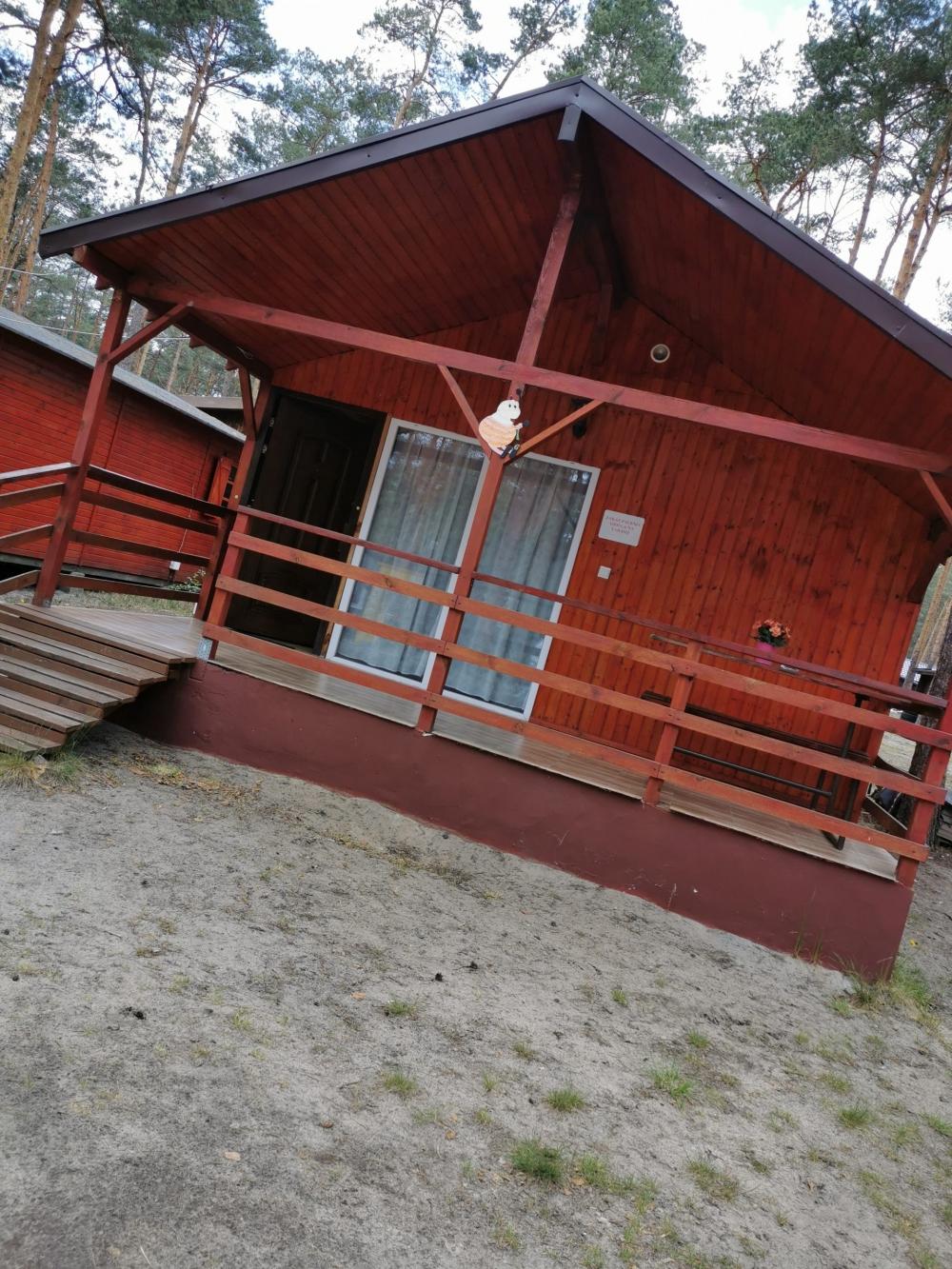 Zdjęcie domku PREMIUM z zewnątrz.