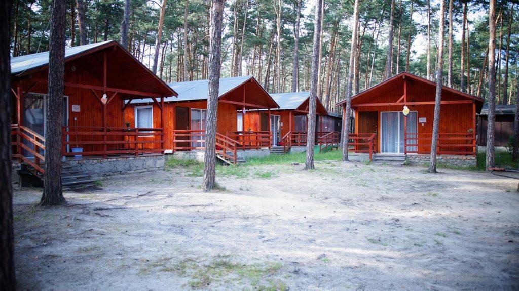 Zdjęcie domków w ośrodku wczasowym Żuczek